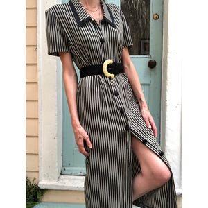 Vintage button front dress